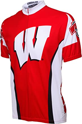 Adrenaline Promotions Wisconsin Cycling Jersey, Red