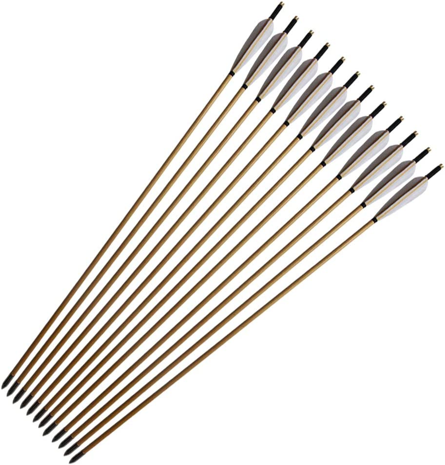 e5e10 33inch Wooden Arrows Handmade Archery Target Regular dealer with F Al sold out.