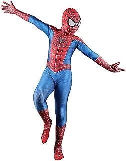 Halloween Cosplay Suit Unisex Spider Costume Bodysuit Dress Up Superhero Pretend Play