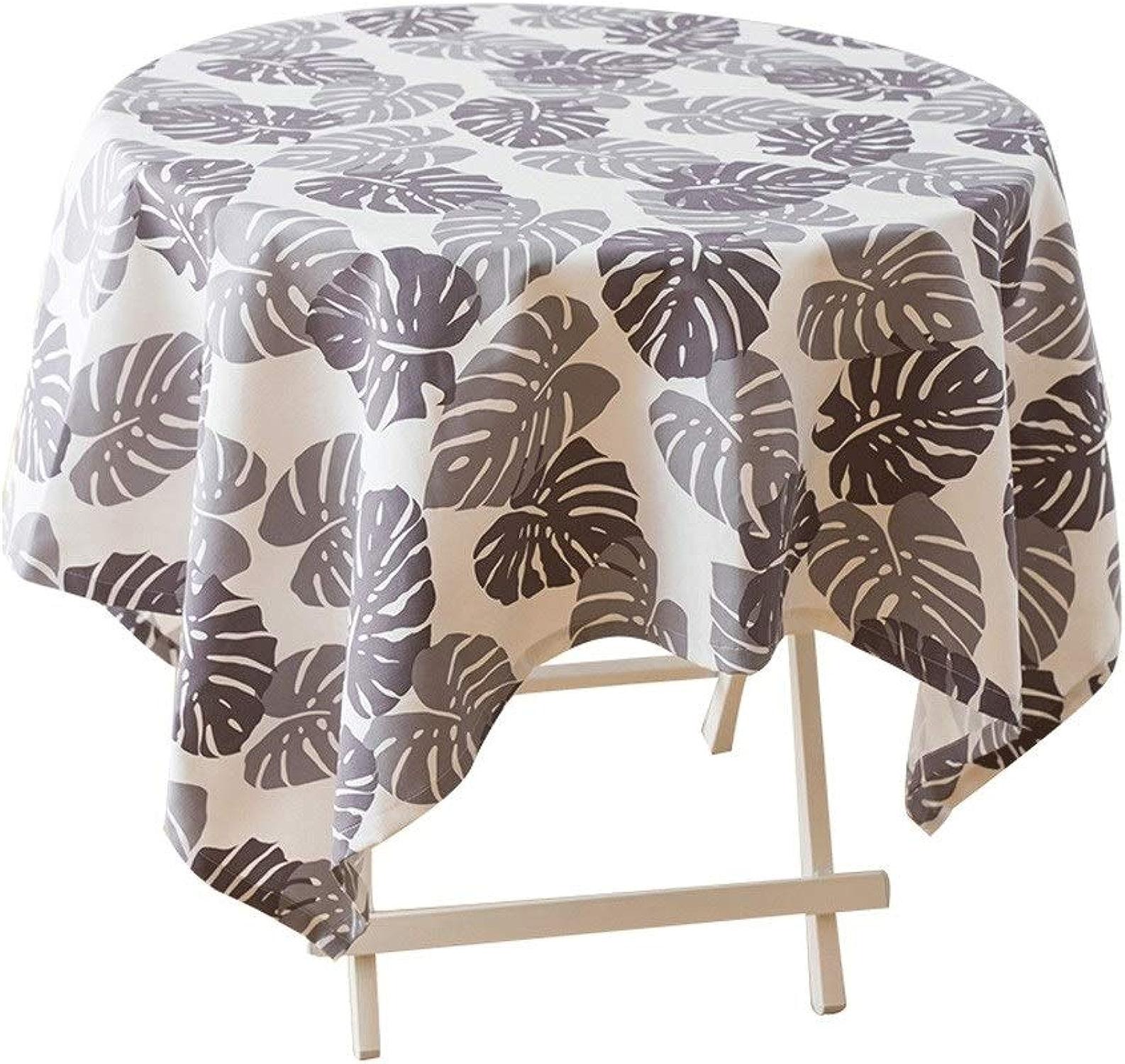GAOJUNMEI Nappe de table basse de salon en lin de coton simple, nappe de table basse de table à hommeger appropriée à la cuisine à domicile Multi-taille (Taille   140  140cm)