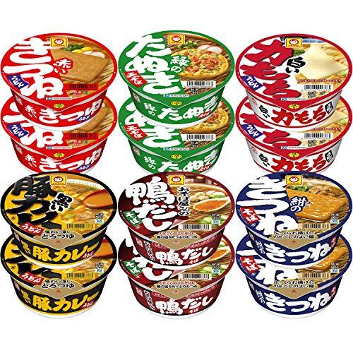マルちゃん 和風麺カラフル6種セット