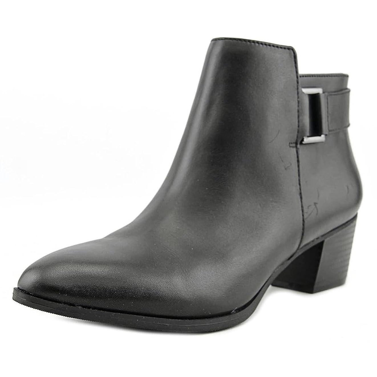 爬虫類健康的オゾンAlfani Womens Adisonn Closed Toe Leather Fashion Boots