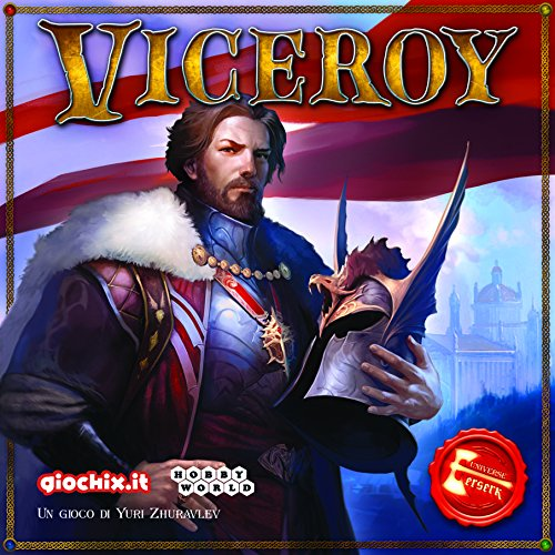 Asmodee 0388 Viceroy Italienische Edition, Mehrfarbig