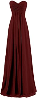 Sweetheart Pleats Long A Line Corset Formal Women Prom Bridesmaid Dresses