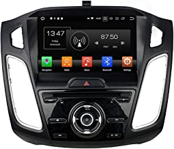 Kunfine Android 9.0 Octa Core Car DVD GPS Navigation Multimedia Player Car Stereo for Ford Focus 2015 2016 Autoradio Volante Control with 3G WiFi Bluetooth Free SD Map