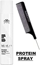 Label M PROTEIN SPRAY Conditioner, UV Protection, Evens Out Porosity for All Hair Types (w/Sleek Comb) (250 ml / 8.5 oz - ORIGINAL SIZE)