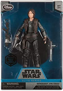 Star Wars Sergeant Jyn Erso Elite Series Die Cast Action Figure - 6 Inch - Rogue One: A Story