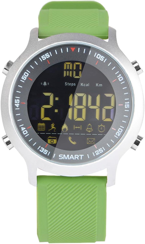 TKSTAR Sport Smart Watch, Fitness Aktivitt Tracker Smartwatch, Wasserdicht Schwimmen Blautooth Smart uhr Schritte zhlen Burned calory Remote Kamera APP Benachrichtigungen & Call Alerts für Android 4.3 iOS 7.0 und hher EX18