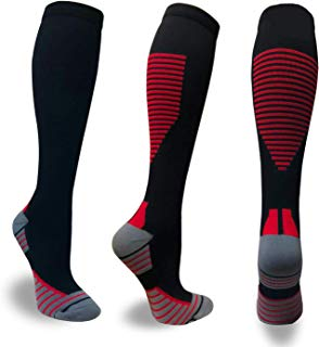 Compression Socks Men & Women (20-30 mmHg) Best Stockings for Running, Medical, Athletic, Edema, Diabetic