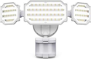 LEPOWER 45W LED Security Lights Motion Sensor Light Outdoor, 4500LM Motion Flood Light, 5000K, IP65 Waterproof, Durable Ad...