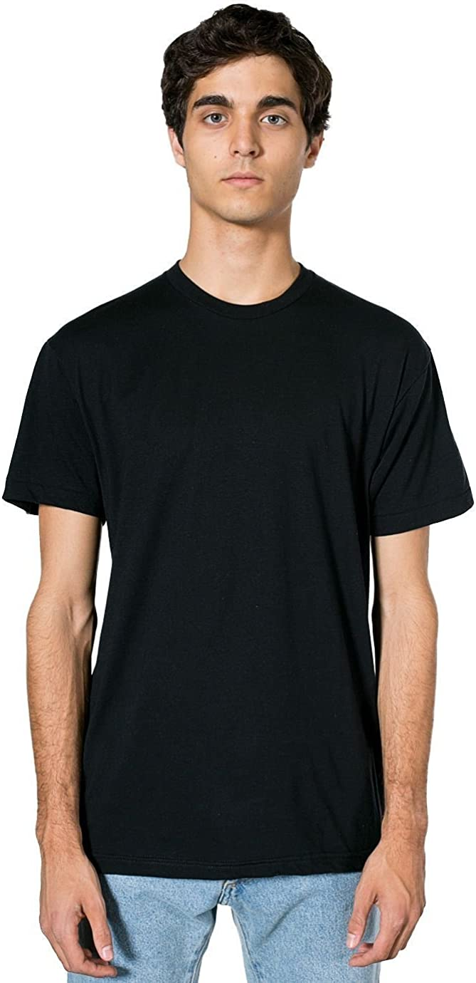 American Apparel mens womens Poly-cotton Louisville-Jefferson County Mall Los Angeles Mall Neck Crew Sleeve Short