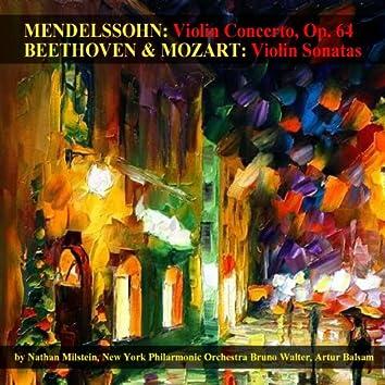 Mendelssohn: Violin Concerto, Op. 64 -  Beethoven & Mozart: Violin Sonatas