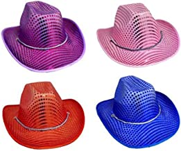 Cowgirls Rodeo Western Straw Hats Cowboys ACowBg36-1