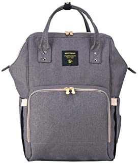سان فينو حقيبة مستلزمات الاطفال - رمادي