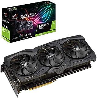 ASUS ROG -STRIX-GTX1660TI-6G-GAMING GeForce GTX 1660 Ti 6 GB GDDR6 - Tarjeta gráfica (GeForce GTX 1660 Ti, 6 GB, GDDR6, 192 bit, 7680 x 4320 Pixeles, PCI Express 3.0)