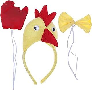 Gran cantidad de orejas de cola de gallo animales de corbata 6/10 años unisex papillon cosplay