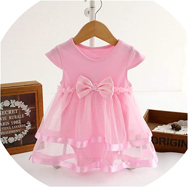 Ivyi Bow Clothes Party Jumpsuit Princess Dress O K Sleeveless Cute Dress 1903 Pink