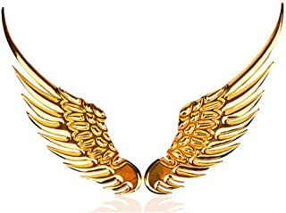 MDUHND Car Sticker Car Styling Fashion Metal Stickers 3D Wings Car Sticker Car Motorcycle Accessories