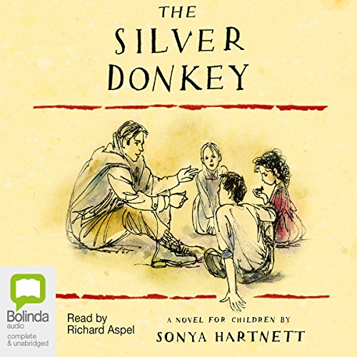The Silver Donkey audiobook cover art