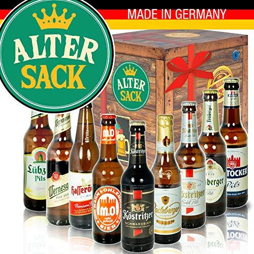 Alter Sack - Biere aus Ostdeutschland - Geburtstag Alter Sack 60