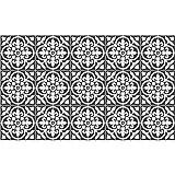 60 Stickers adhésifs carrelages | Sticker Autocollant Carrelage - Mosaïque carrelage mural salle de bain et cuisine | Carrelage adhésif - nuance de gris classiques  - 10 x 10 cm - 60 pièces