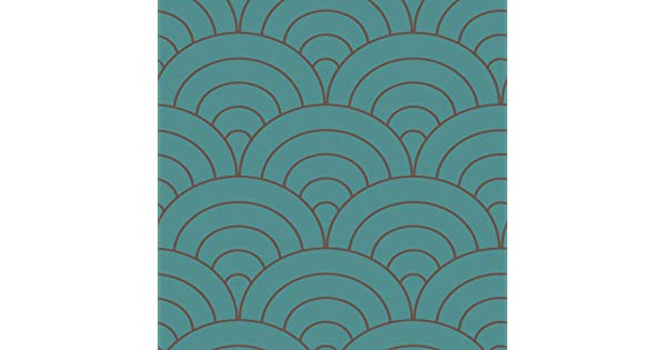 Decorate By Color BC1581438 Peacock Modern Spiral Wallpaper
