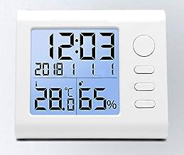 Temperatura De Precisión Higrómetro Interior Hogar De Alta Precisión Húmedo Y Seco Sala De Bebé Habitación Cuarto Termómetro Electrónico Montado En La Pared