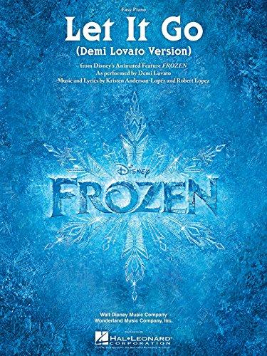Demi Lovato: Let It Go (From Frozen) Easy Piano. Partitions pour Piano Facile