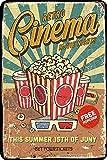 Cimily Retro Cinema Poster Vintage Blechschild Eisenmalerei