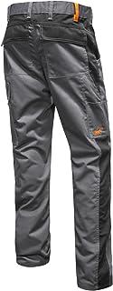dc265882b3e strongAnt® - Pantalón de Trabajo Berlin Pro Gris 100% Algodón con Bolsillo  para Rodillera