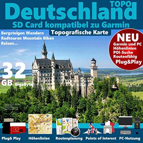 Universalsoftware -  Deutschland Topo