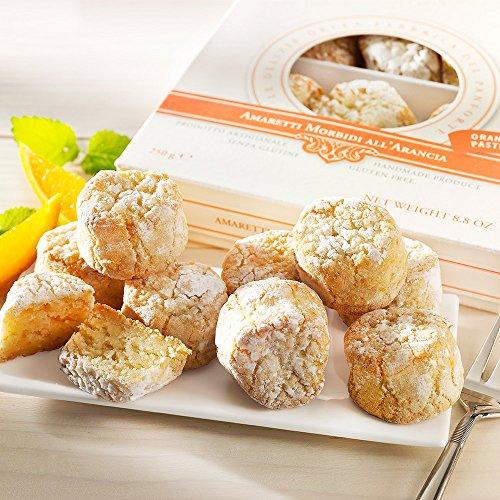 Weiche Amaretti mit Orangen aus der Toskana,