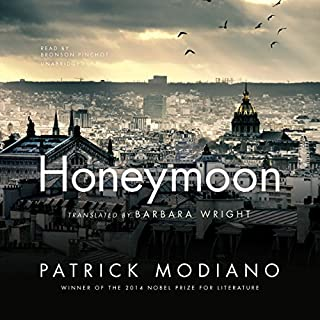 Honeymoon audiobook cover art