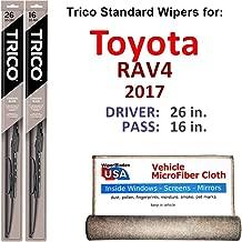 rav4 2017 wiper blade size