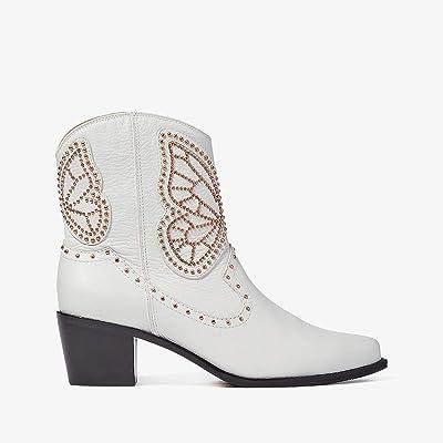 Sophia Webster Shelby Boot (White/Rose Gold) Women