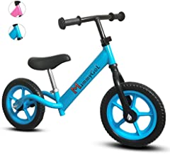 wooden or metal balance bike