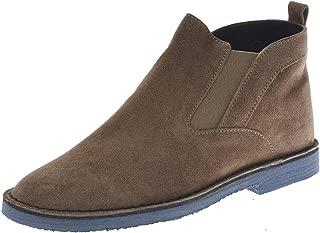DANIELE ALESSANDRINI - Men'S Ankle Boots F601KL1613806 F601KL1613806 Beige Slip Shoe ON HIGH