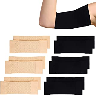 TALITARE 6 Pairs Arm Shapers Set Upper Arm Compression Sleeve Slimming Arm Warps Arm Slimming Shaper for Woman Cooling Arm...
