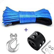 Synthetic Winch Rope, Samlight Blue 1/4