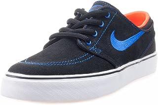 Black/Rcr Blue-ttl Crmsn-White, Zapatillas de Skateboarding para Niños