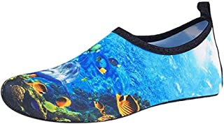 YWSCXMY-AU Casual Couple Beach Swimming Water Shoes Quick-Drying Drawstring Creek Diving Shoes Outdoor Sports Shoes (Color : Blue, Shoe Size : 42)