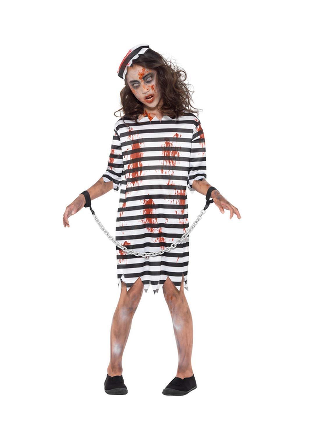 Fancy Ole - Disfraz de niña de Zombi de Terror, Vestido y Cadena ...