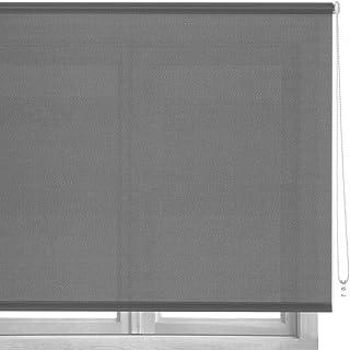 LOLAhome Estor Enrollable de Tela (140 x 180 cm, Gris)