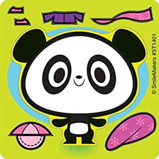 SmileMakers Make-Your-Own Panda Stickers - Prizes 100 per Pack