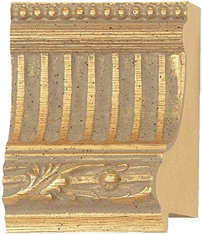 Picture Frame Moulding Cheap mail order specialty store Wood 100ft Bundle Finish Gold Ornate - San Francisco Mall