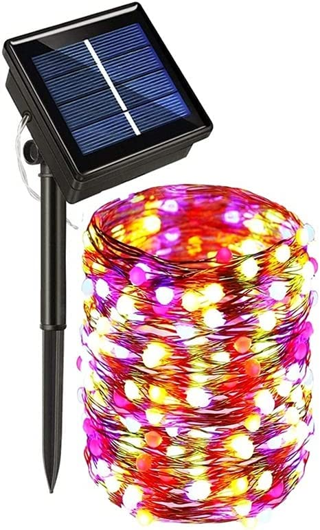 2021 String Lights 50 100 200 330 Lamp Light Outdoor National uniform free shipping Solar LED
