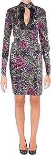 Just Cavalli womens Just Cavalli Womens Rose Print Dress Dress