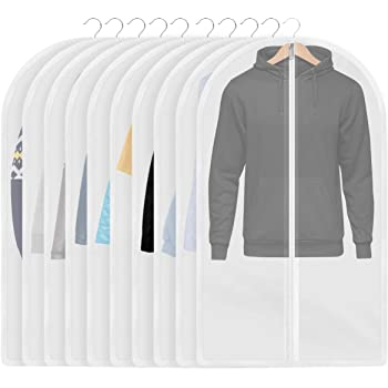 InnoGear 10枚洋服カバー 衣類カバー 防塵/防湿/防カビ/防水/防虫カバー 60㎝×100㎝