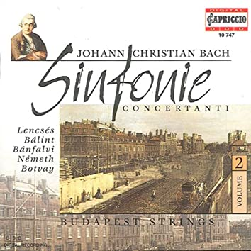 Bach, J.C.: Sinfonie Concertanti, Vol. 2