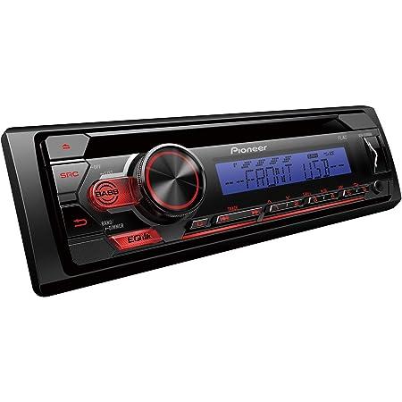 Pioneer Deh S110ubb 1din Rds Autoradio Mit Roter Elektronik